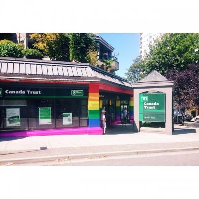 "@westendbia: ""The Davie St location of TD Canada Trust has"