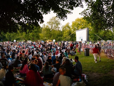 "@westendbia: ""The @evocarshare @freeoutdoormoviesbc Summer Cinema schedule has been announced!"