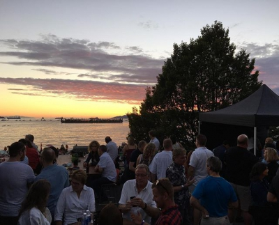 "@westendbia: ""Fantastic view from The Keg Lounge for tonight's @celeboflight."