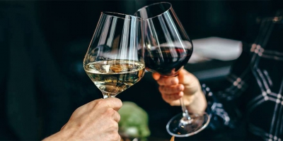 half-price wine at Moxies on Davie Street every Wednesday